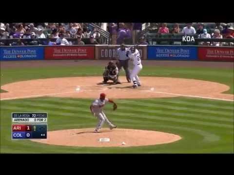 Nolan Arenado All 2015 Home Runs
