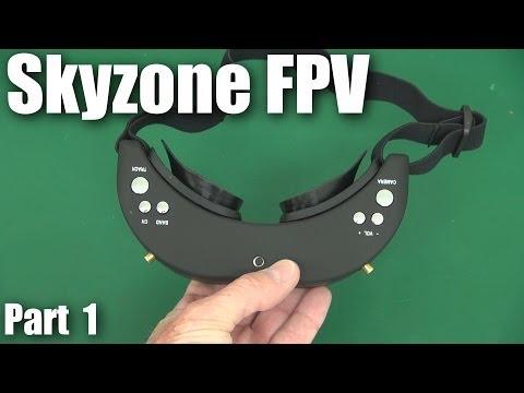 SkyZone FPV glasses/goggles (versus FatShark)