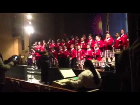 "Cardinal Shehan school ""You are Good"" Directed by Kenyatta Hardison - 03/17/2012"