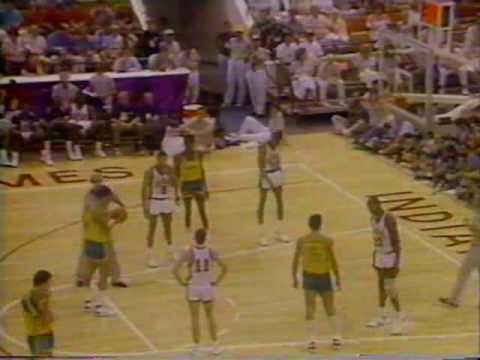 Brasil x EUA - Basquete - Final do Pan 1987 - NA ÍNTEGRA - PARTE 06