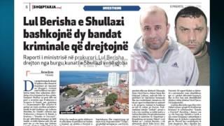 Report TV - Ekskluzive/ Lul Berisha-Shullazi bashkojnë 2 bandat kriminale
