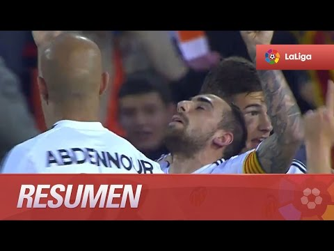 Resumen de Valencia CF (4-0) SD Eibar