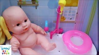 Đồ chơi trẻ em - Phòng tắm búp bê Baby Bath Tub
