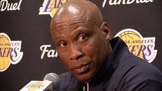 Lakers Coach Byron Scott discusses D'Angelo Russell's secretly recorded video