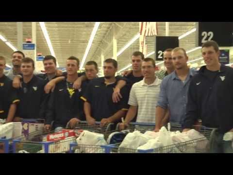 WVU Baseball helping those in need.