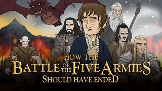 How The Battle Of The Five Armies Should Have Ended (feat. Screen Junkies)