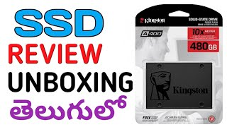 Kingston SSD 480GB||A400|| Review తెలుగులో- Srlaptopcare