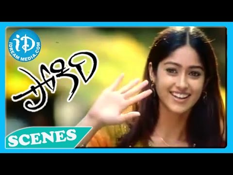 Pokiri Movie - IleanaMahesh Babu Lovely Comedy Scene