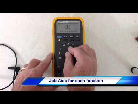 Fluke 87 Multimeter Overview
