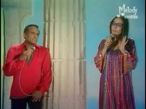 Nana Mouskouri & Hary Belafonte - Try to remember - In live