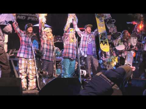 AMP Energy: Frends and the 2010 Olympic Snowboarding Halfpipe Team Announcement Video
