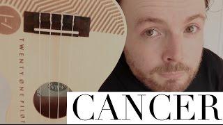 CANCER - TWENTY-ONE PILOTS/MY CHEMICAL ROMANCE (UKULELE TUTORIAL)