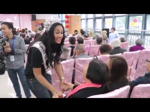 Mrs Globe 2015 - Charity Day at the elderly home (1 of 2)