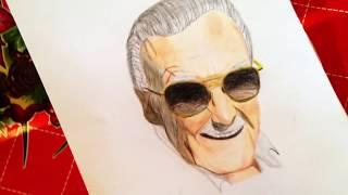 Dibujando a Stan Lee