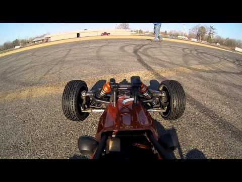 GoPro Hero 3 HPI Baja 5B High speed runs