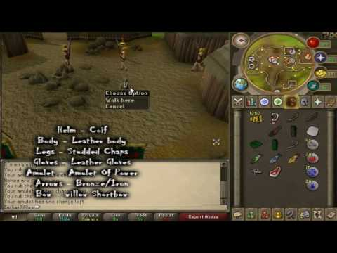 [RS] F2P Pure Range Training Guide Cheap 1-99