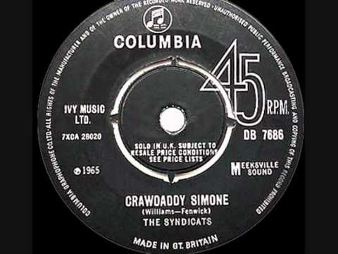 The Syndicats - Crawdaddy Simone - 1965 45rpm