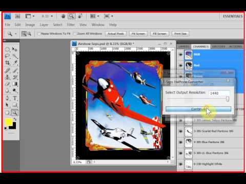 T-Seps Halftone Converter Software