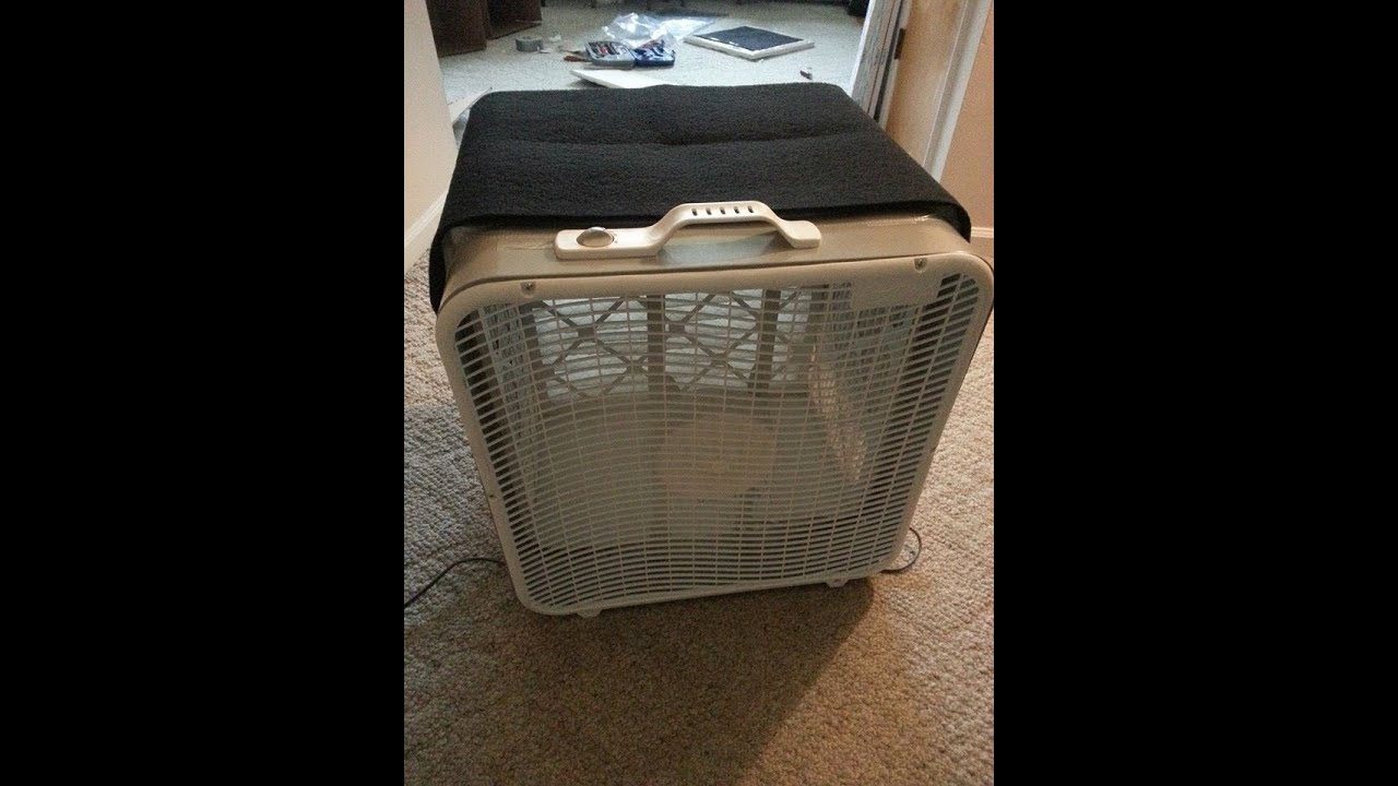 Box Fan Filter : Box fan air filter youtube