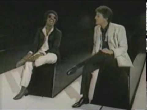 Ebony and Ivory - Paul McCartney and Stevie Wonder