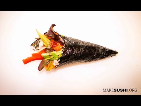 Sushi Hand Roll - How to Make Sushi