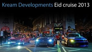 Kream Developments London Eid cruise 2013 - flames, mayhem and fun!