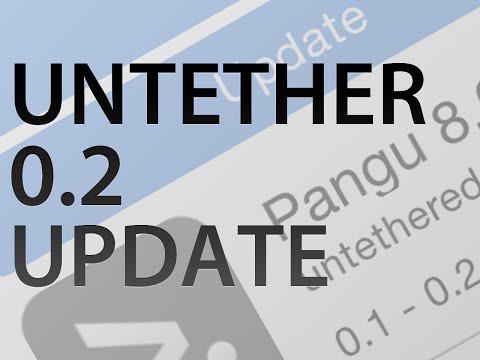 HOW TO: Update to Pangu 0.2 Untether