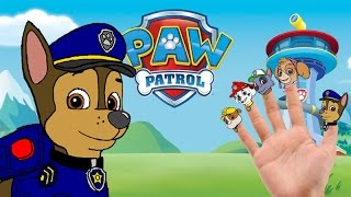 Paw Patrol Finger Family | Nursery Rhymes Lyrics