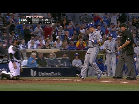 CHC@SD: Coghlan puts Cubs on board with solo homer