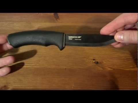New Mora Bushcraft Black