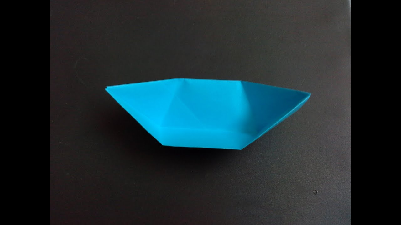 Paper Boat With Knife How to Make a Paper Boat