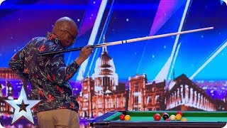 JOBO has a POOL PARTY on the BGT stage!   Auditions   BGT 2018
