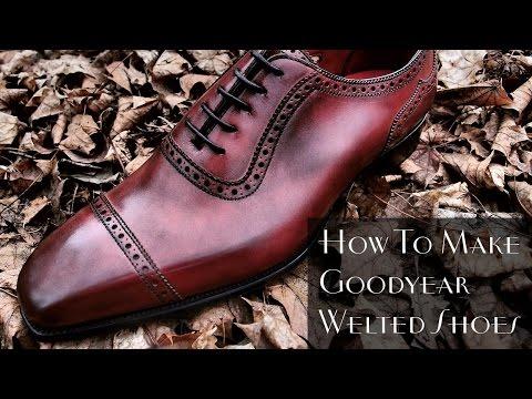 How To Make Shoes - Gentleman's Gazette
