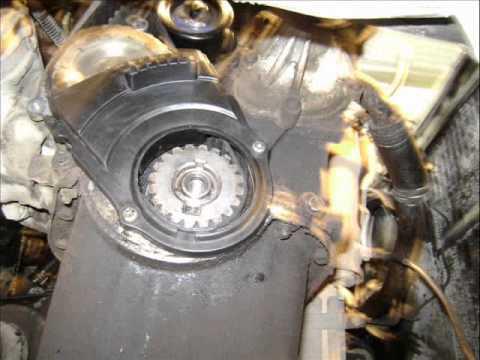 Motor Nissan 1.6 Lts. 8 V. cambio de banda de distribución ...