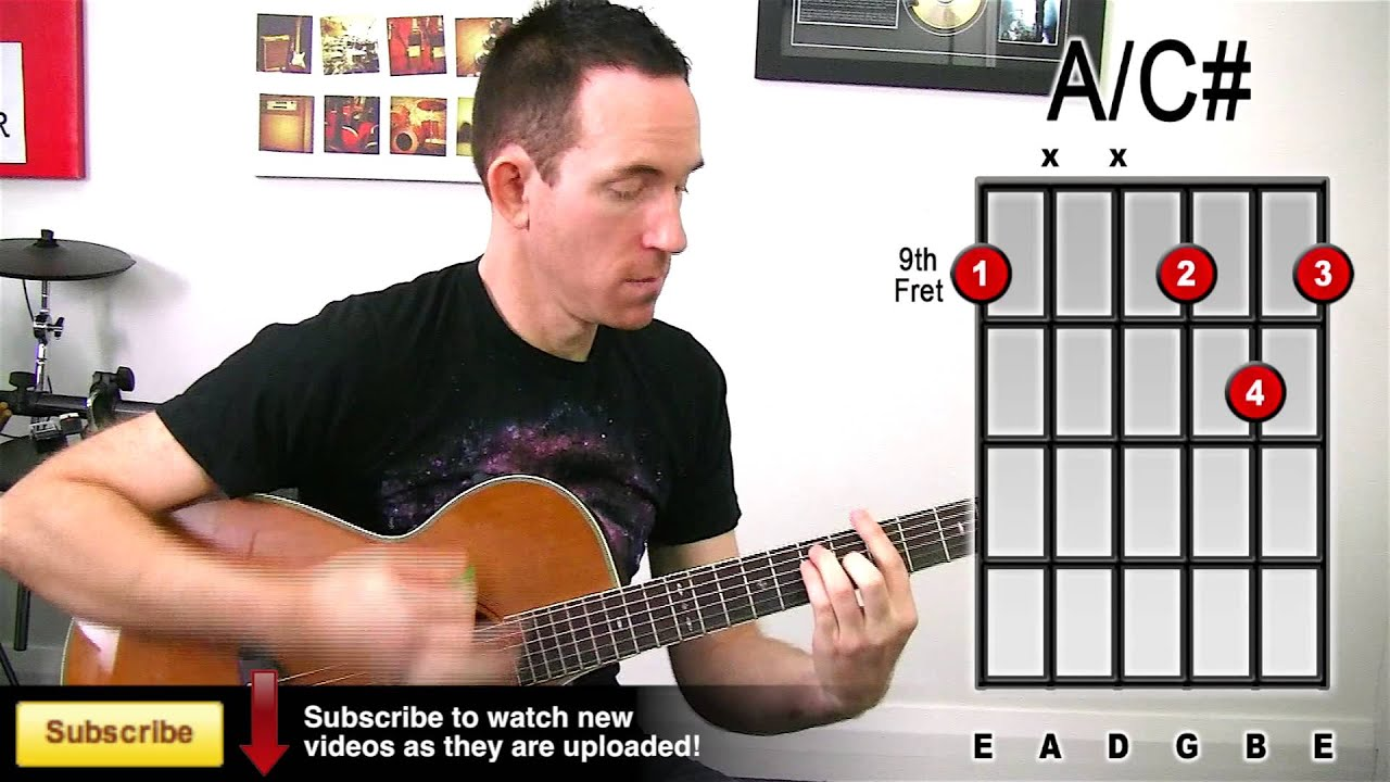 Must Know Guitar Chord Inversion Trick! Making Your Chords More Interesting - YouTube