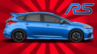 2016 Ford Focus RS UNBOXING Review - A 350-HP Hot Hatch Will Cure All Problems