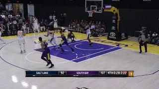Stephaun Branch (9 points) Highlights vs. South Bay Lakers