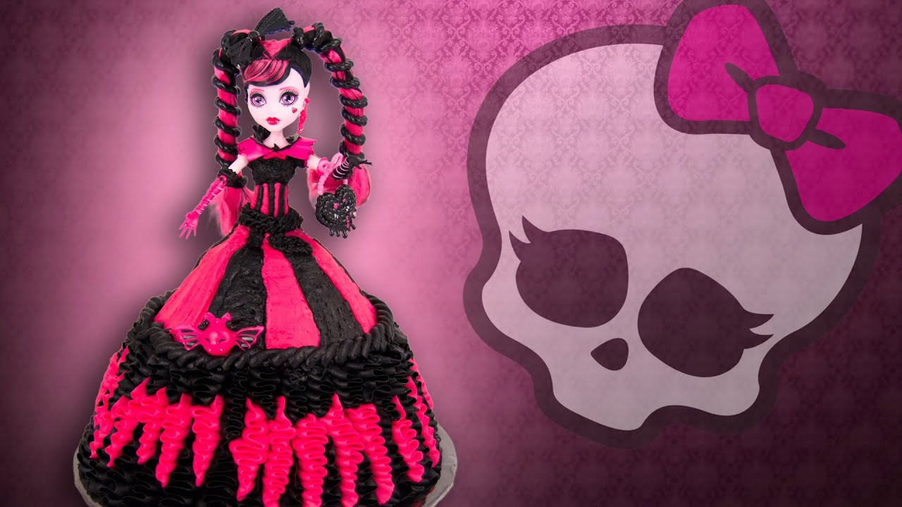 How To Make A Draculaura Cake