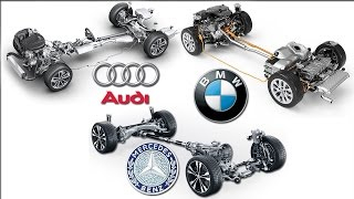 4MATIC Vs xDrive Vs Quattro 4X4 System - Mercedes Benz / BMW /  Audi