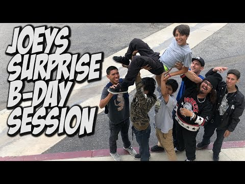 SURPRISE BIRTHDAY SESSION FOR JOEY AND MUCH MORE !!! - NKA VIDS -