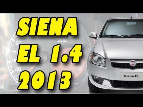 FIAT SIENA EL 1.4 2013 - Visto por dentro e por fora.