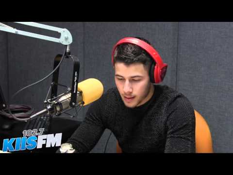 Nick Jonas Talks About His Risky Photoshoot, The New Album and More In Studio (Video)