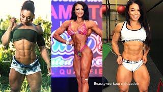 Fitness model Kessia Mirellys workout motivation | bikini model workout | female workout motivation