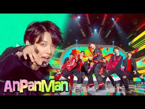 [Comeback Stage]BTS - Anpanman , 방탄소년단 - Anpanman  Show Music core 20180526