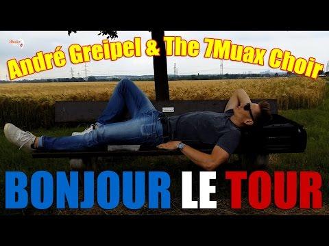 Bonjour le Tour - André Greipel and The 7Muax Choir
