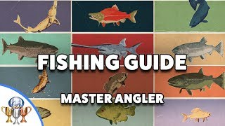 Far Cry 5 Ultimate Fishing Guide - All Fish, Rods and Hard Locations - Hope County Master Angler