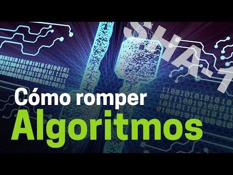 Cómo romper algoritmos de cifrado y la vulnerabilidad de SHA-1