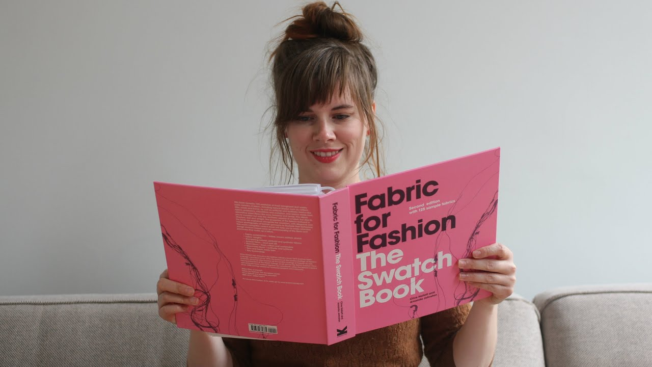 Fabric swatch book for fashion 40