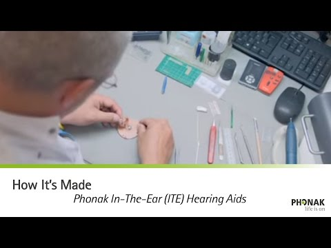 How it's made: Phonak In The Ear hearing aid