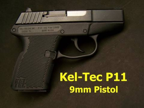 Kel Tec P-11 9mm Pistol Review